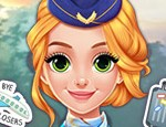 Play Free Blonde Princess Cabin Crew Makeover