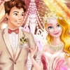 Cinderella Pink And Gold Wedding