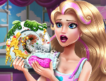 Play Free Doll Dish Washing