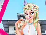 Play Free Elsa and Moana Exchange Students