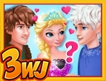 Play Free Elsas True Love: Jack vs Hiccup
