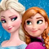 Frozen Sisters At Birthday Party