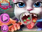 Play Free Kitty Tongue Doctor