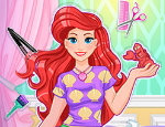 Play Free Magical Mermaid Hairstyle