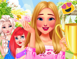 Play Free Princesses Garden Contest