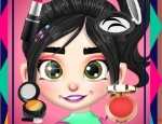 Play Free Vanellope Princess Makeover